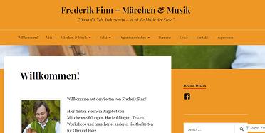 Märchenerzähler Frederik Finn