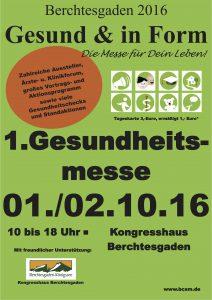 Gesund & in Form - Gesundheitsmesse Berchtesgaden @ Kongresshaus Berchtesgaden | Berchtesgaden | Bayern | Deutschland